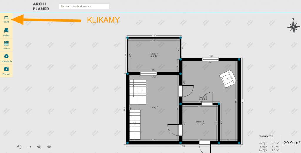 tworzenie nowego rzutu mieszkania online