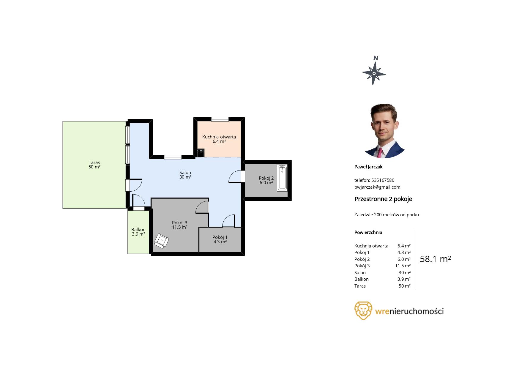 dostępne szablony planów mieszkań w programie do rzutów