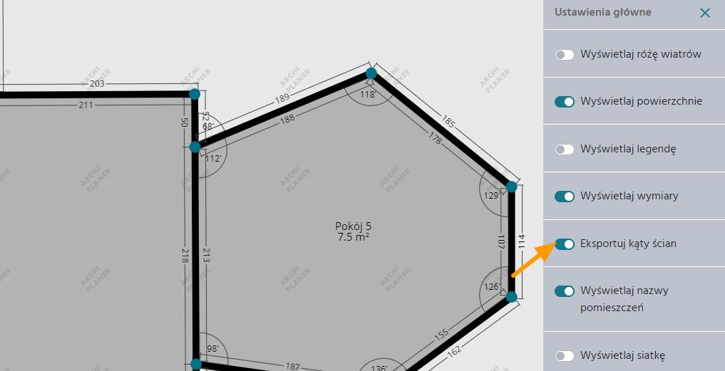 dodanie pionu wentylacyjnego na techniczny plan mieszkania