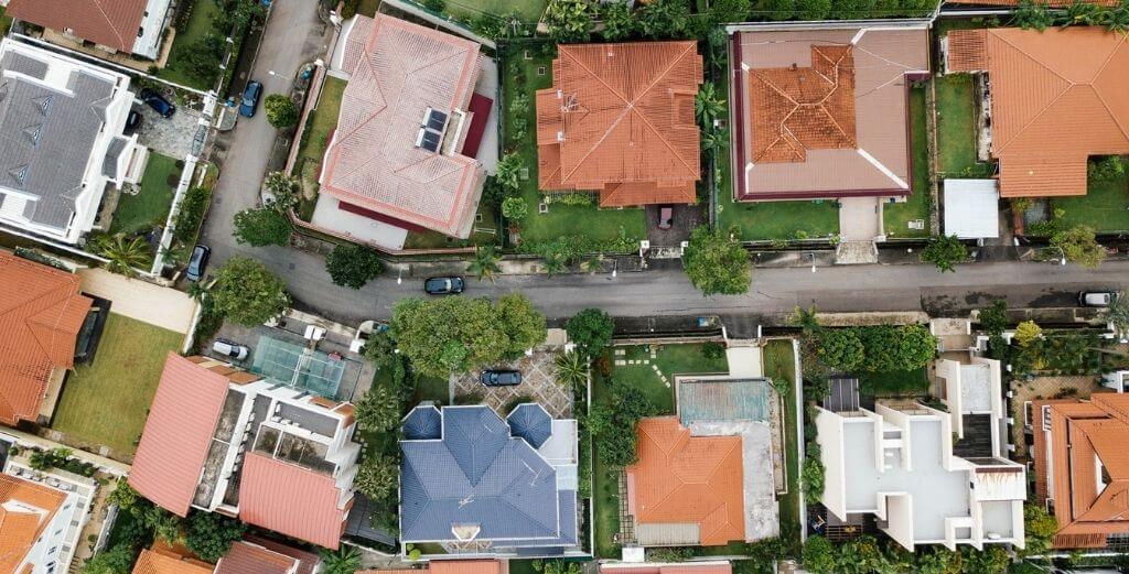 plan mieszkania z góry